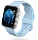 TechProtection Soft Apple Watch 44 / 42 mm bandje Lichtblauw