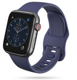 TechProtection Soft Apple Watch 44 / 42 mm bandje Donkerblauw