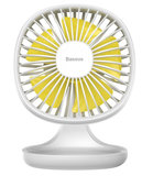 Baseus Pudding Shaped fan USB ventilator Wit