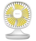 Baseus Pudding Shaped fan USB ventilator Wit