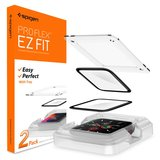 Spigen ProFlex EZ Fit Apple Watch 44 mm screenprotector 2 pack