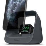 Spigen S316 2 in 1 stand voor iPhone en Apple Watch Zwart