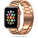 TechProtection Roestvrijstaal Apple Watch 44 / 42 mm bandje Rose Gold