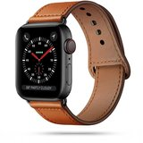 TechProtection Leren Apple Watch 44 / 42 mm bandje Bruin