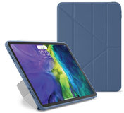Pipetto Origami TPU iPad Air 2020 10,9 inch hoesje Navy