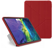 Pipetto Origami TPU iPad Air 2020 10,9 inch hoesje Rood