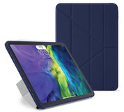 Pipetto Origami TPU iPad Air 2020 10,9 inch hoesje Donkerblauw