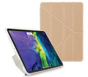Pipetto Origami Metallic TPU iPad Air 2020 10,9 inch hoesje Goud