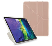 Pipetto Origami Metallic TPU iPad Air 2020 10,9 inch hoesje Rose Goud