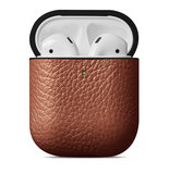 Woolnut Leather case AirPods hoesje Bruin