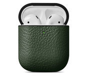 Woolnut Leather case AirPods hoesje Groen