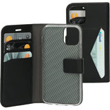 Mobiparts Classic Wallet iPhone 12 mini hoesje Zwart