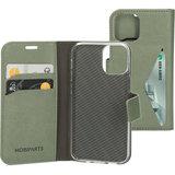 Mobiparts Classic Wallet iPhone 12 mini hoesje Groen