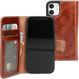 Mobiparts Excellent Wallet iPhone 12 mini hoesje Cognac