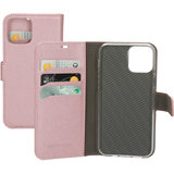 Mobiparts Saffiano Wallet iPhone 12 Pro / iPhone 12 hoesje Rose