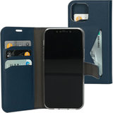 Mobiparts Classic Wallet iPhone 12 Pro / iPhone 12 hoesje Blauw