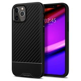 Spigen Core Armor iPhone 12 Pro / iPhone 12 hoesje Zwart
