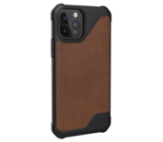 UAG Metropolis Leather Lite iPhone 12 Pro / iPhone 12 hoesje Bruin