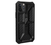 UAG Monarch iPhone 12 Pro / iPhone 12 hoesje Carbon