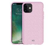 Xqisit Eco Flex milieuvriendelijk iPhone 12 Pro / iPhone 12 hoesje Roze