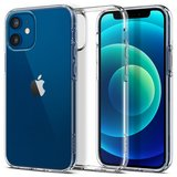 Spigen Liquid Crystal iPhone 12 mini hoesje Transparant