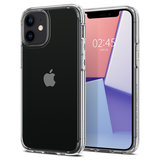 Spigen Crystal Hybrid iPhone 12 Pro / iPhone 12 hoesje Doorzichtig