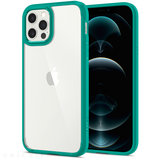 Spigen Crystal Hybrid iPhone 12 Pro / iPhone 12 hoesje Mint