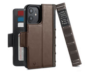 Twelve South BookBook iPhone 12 Pro / iPhone 12 hoesje Bruin