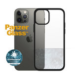 PanzerGlass ClearCase iPhone 12 Pro / iPhone 12 hoesje Zwart