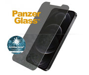PanzerGlass Privacy Glazen iPhone 12 Pro / iPhone 12 screenprotector