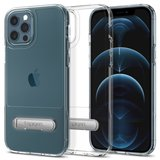 Spigen Slim Armor Essential S iPhone 12 Pro / iPhone 12 hoesje Doorzichtig