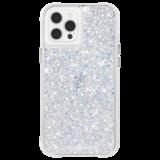 Case-Mate Twinkle iPhone 12 Pro / iPhone 12 hoesje Zilver
