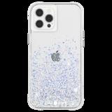 Case-Mate Twinkle Ombre iPhone 12 Pro / iPhone 12 hoesje Zilver