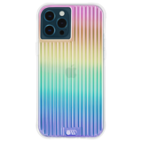 Case-Mate Tough Groove iPhone 12 Pro / iPhone 12 hoesje Iridescent