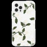 Case-Mate Rifle Paper iPhone 12 Pro / iPhone 12 hoesje Hydrangea