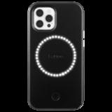 Case-Mate LuMee Halo iPhone 12 Pro / iPhone 12 hoesje Zwart