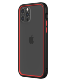 Rhinoshield CrashGuard NX iPhone 12 Pro / iPhone 12 hoesje Zwart / Rood
