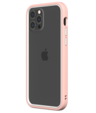 Rhinoshield CrashGuard NX iPhone 12 Pro / iPhone 12 hoesje Roze / Wit
