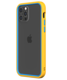 Rhinoshield CrashGuard NX iPhone 12 Pro / iPhone 12 hoesje Geel / Blauw