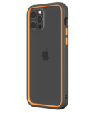 Rhinoshield CrashGuard NX iPhone 12 Pro / iPhone 12 hoesje Grijs / Oranje