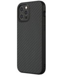 RhinoShield SolidSuit iPhone 12 Pro / iPhone 12 hoesje Carbon Fiber