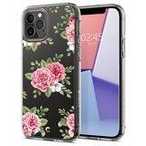 Spigen Ciel iPhone 12 Pro / iPhone 12 hoesje Pink Floral