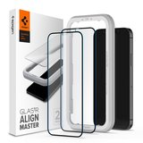 Spigen Edge to Edge Align iPhone 12 Po Max glazen screenprotector 2 pack