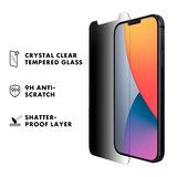 LAUT Prime Privacy Glass iPhone 12 Pro Max screenprotector