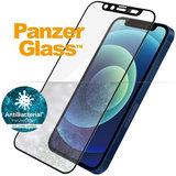 PanzerGlass Edge to Edge Glazen iPhone 12 mini screenprotector Camslider