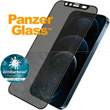 PanzerGlass Dual Privacy Glazen iPhone 12 Pro Max screenprotector