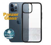PanzerGlass ClearCase iPhone 12 Pro Max hoesje Zwart
