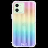 Case-Mate Tough Groove iPhone 12 mini hoesje Iridescent