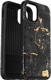 Otterbox Symmetry iPhone 12 mini hoesje Marble Zwart