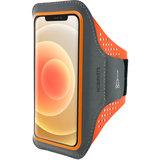 MobipartsComfort iPhone 12 Pro / iPhone 12 sportband Oranje